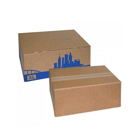 Почтовая коробка без надписей четырехклапанная
