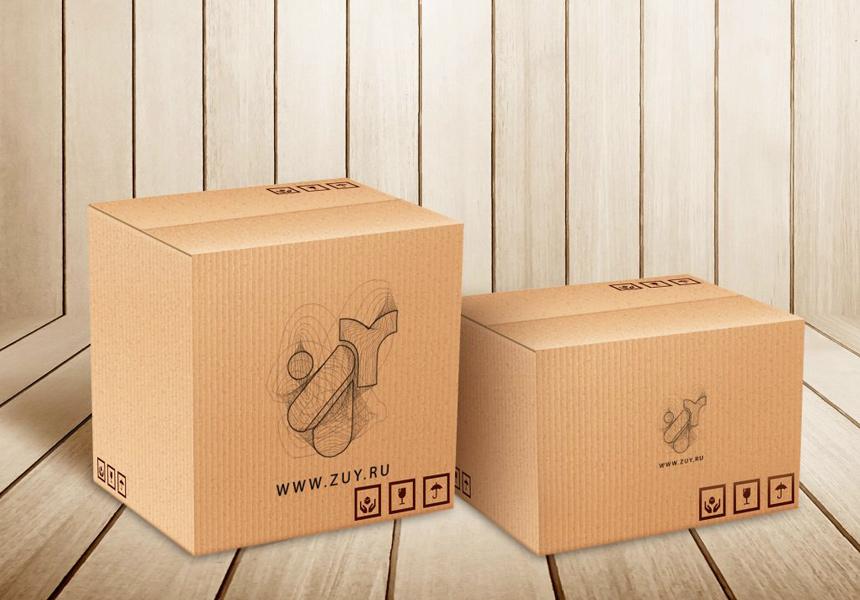 Стандартные коробки типовых размеров