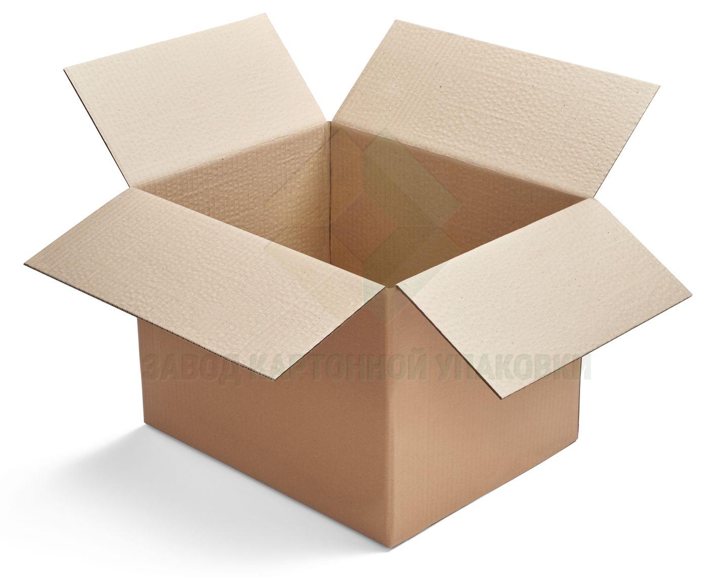 Четырехклапанная коробка из гофрокартона 400x400x200