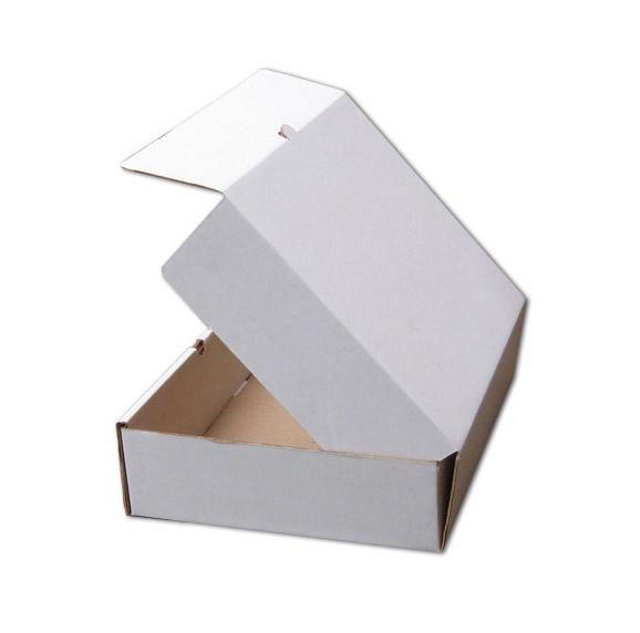 Картонная коробка белая с ушками 480х280х120