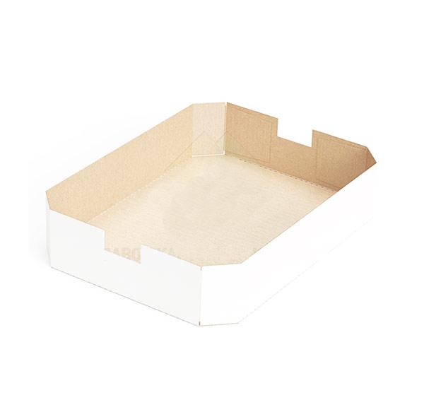 Восьмиугольный картонный поддон 230x160x25