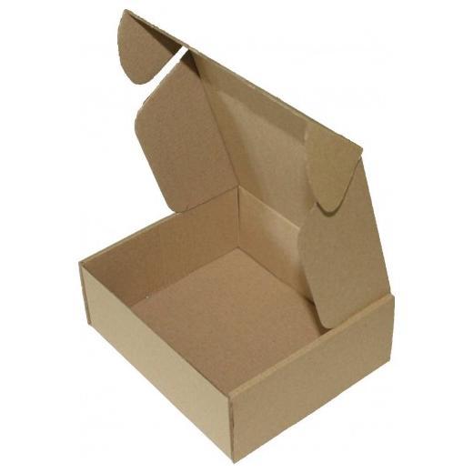 Самосборная коробка 160 x 160 x 60 бурый