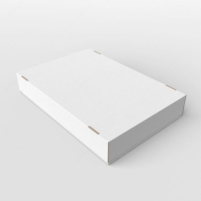 Архивная папка 220 x 150 x 25 белый/бурый