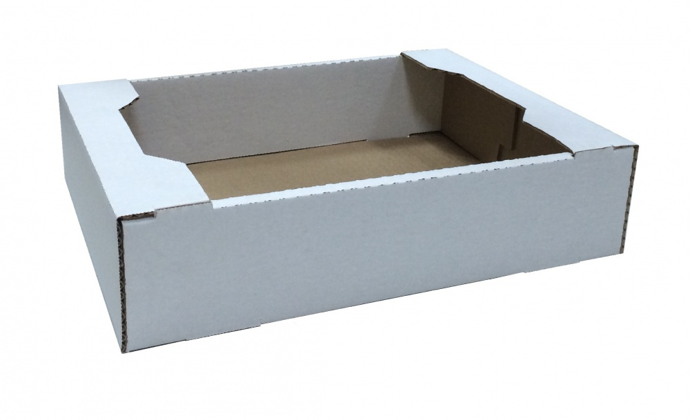 Коробка белая телевизор 260x220x75