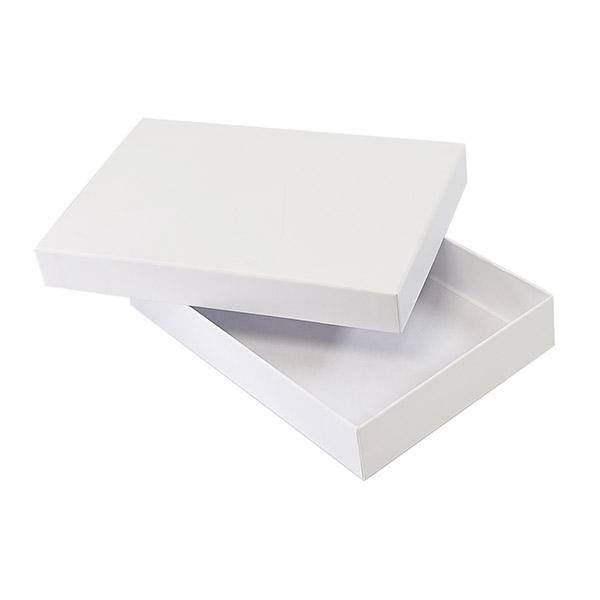 Самосборный короб 150*80*30 белый