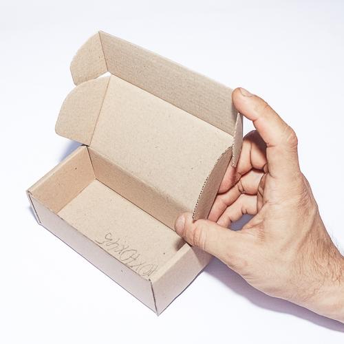 Коробка из микрогофрокартона 200 x 60 x 60 бурый
