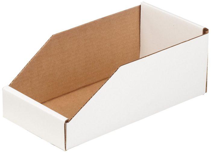 Картонный белый шоу бокс 160x120x160