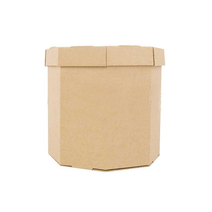 Шляпная коробка 185 x 185 x 185 бурый